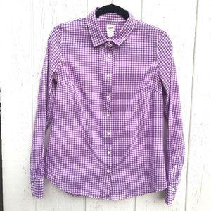 J Crew The Perfect Shirt Button down shirt